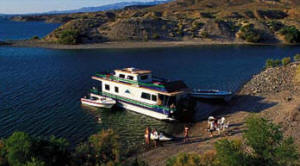 Seven Crown Houseboat on Lake Mohave